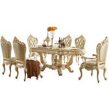 königliche esszimmer möbel luxus marmor esstisch set 6 stühle