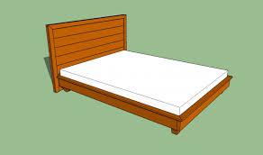 bed frame easy amp cheap diy hardwood king platform bed plans