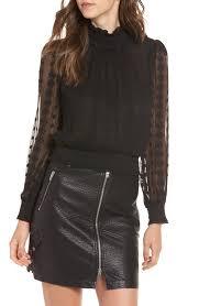 women u0027s black silk tops u0026 tees nordstrom
