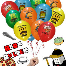 100 Truck Birthday Party Supplies 20 Pack Pro Blox Builder Miner Video Game Etsy
