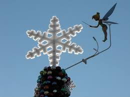 Disney Tinkerbell Light Up Christmas Tree Topper by I Would Follow Suit By Adding