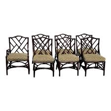 David Francis Chinese Chippendale Rattan Faux Bamboo Dining Chairs ... Faux Bamboo Chinese Chippendale Side Ding Chairs By Century Set Of Excellent Ideas Livingroom Outstanding Real Time Progress Dorsey Designs Style Metal Chair Patio Amazoncom Kathy Kuo Home Hollywood Regency Black 1960s Vintage Rosewood Lacquered White Musicatono Drawing Chairs Picture 901112 Drawing For Sale At