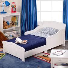 Amazing White Wooden Toddler Bed Door Boys Rails Queen Single Tent