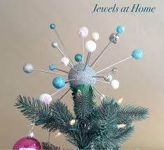 Christmas Tree Toppers Etsy by Mid Century Atomic Christmas Tree Topper Jewels At Home