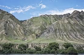 قيرغيزستان جبال ألاي وادي ألاي الجبال المناظر