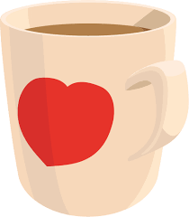 Clip Art Library Mug Medium Image Png Freeuse Coffee Cup Heart