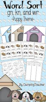 Silent Letters Gn Kn Wr Word Sort Word Work Phonics Consonant