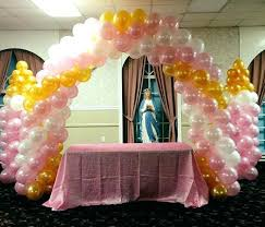 Simple Balloon Decorations Decorating Ideas Simply Photo On Table Decoration For Birthday Boy
