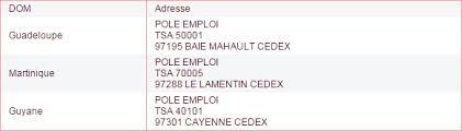 pole emploi siege actualisation pôle emploi où envoyer les bulletins de salaire