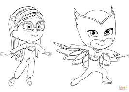 21 Owlette Coloring Page Printable