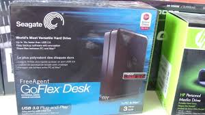 Seagate Freeagent Goflex Desk Driver by 3tb Seagate Freeagent Goflex Desk Usb 3 0 External Hard Drive
