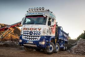 Fuel-efficient Mercedes-Benz Arocs And Rygor Commercials Deliver A ...