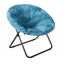 mainstays plush saucer chair multiple colors 30 w x 26 4 d x 28