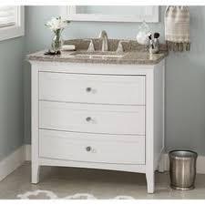 Allen And Roth Bathroom Vanities by Allen Roth Wrest Park Cream Bathroom Vanity With Cultured Marble