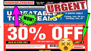 30% OFF COUPON!!   Harbor Freight 3 Days Only Harbor Freight Coupons December 2018 Staples Fniture Coupon Code 30 Off American Eagle Gift Card Check Freight Coupons Expiring 9717 Struggville Predator Coupon Code Cinemas 93 Tools Database Free 25 Percent Black Friday 2019 Ad Deals And Sales Workshop Reference Motorcycle Lift Store Commack Ny For Android Apk Download I Went To Get A For You Guys Printable Cheap Motels In