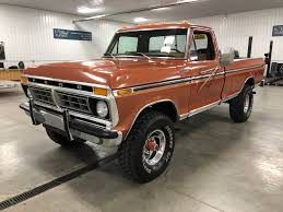 100 Highboy Truck 1975 Ford F250 4Wheel ClassicsClassic Car And SUV Sales