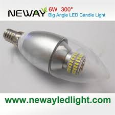 6w wide angle clear led candle light bulbs 6w wide angle clear led