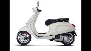 New 2017 Vespa Primavera 150 Touring 2018