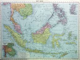 Map Of The East Indies 1931 GOHD Books