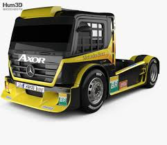 100 Formula Truck MercedesBenz Axor 2011 3D Model Vehicles On Hum3D