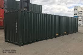 100 40ft Shipping Containers Cleveland