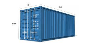 20ft ISO Grade Steel Shipping Containers