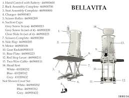 Okin Lift Chair Troubleshooting by Bellavita Auto Bath Tub Chair Seat Lift Drive Medical