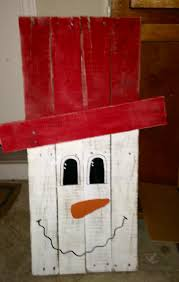 wooden painted snowman holley u0027s handcrafted pinterest