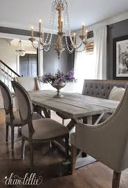 Favorite Things Friday Dear Lillie Grey Dinning RoomShabby Chic