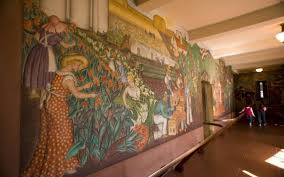 Coit Tower Mural City Life by San Francisco City Guides Walking Tours Offer Little Known History