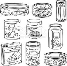 food cans vector id