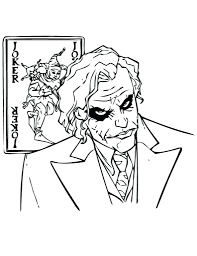 Awesome Joker Coloring Pages Picture All For You Wallpaper Site Batman Printable Colouring Vs Full