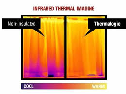 Thermal Curtain Liner Panels by Thermalogic Insulated Curtains Thermal Window Curtains Energy