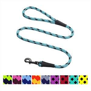 Mendota Pet 8487307905 Snap Leash - Large 1.3cm -Black Ice Turquoise-6