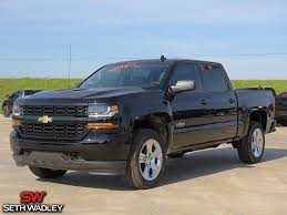 2018 Chevy Silverado 1500 Custom 4X4 Truck For Sale In Pauls Valley ...