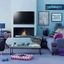 Remarkable Black And Blue Living Room Ideas Modern This Uses Tones Of