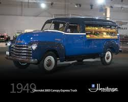100 1949 Chevrolet Truck GM Heritage Center Collection 3800 Canopy Express