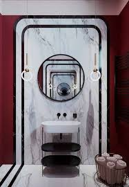 how amazing is this bathroom with a retro vibe if you are