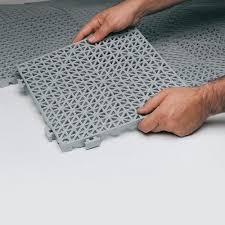 drainage floor tiles ourcozycatcottage