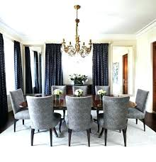 Navy Blue Dining Room Chairs Walls Home Traditional