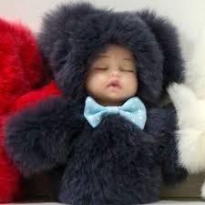 Doll Fur Pendant Keyring For Bag In Dubai Abu Dhabi Fujairah