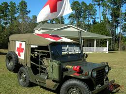 1966 M718 Military Front Line Ambulance M151 Jeep 1/4 Ton Truck Mutt ...