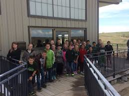 Ashfall Fossil Beds State Historical Park by Howells Dodge Consolidated 4th 6th Graders Take Field Trip To