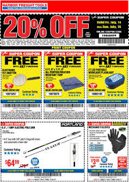 Harbor Freight Coupons - 20% Off A Single Item + Free Harbor Freight Coupons December 2018 Staples Fniture Coupon Code 30 Off American Eagle Gift Card Check Freight Coupons Expiring 9717 Struggville Predator Coupon Code Cinemas 93 Tools Database Free 25 Percent Black Friday 2019 Ad Deals And Sales Workshop Reference Motorcycle Lift Store Commack Ny For Android Apk Download I Went To Get A For You Guys Printable Cheap Motels In