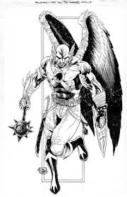 Hawkgirl Coloring Pages 14 236x333