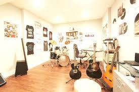 Home Music Room Basement Life Modern Theatre Organization