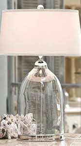 Fillable Table Lamp Clear Glass by Best 25 Glass Lamps Ideas On Pinterest Stained Glass Lamps