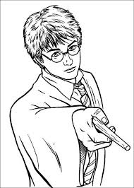 Cool Coloring Pages Harry Potter For KIDS