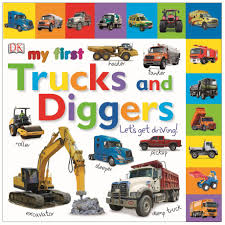 100 Trucks For Toddlers My First And Diggers Lets Get Driving DK UK