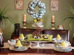 Coolest Easter Buffet Table Decorations